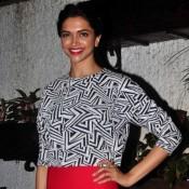 Deepika Padukone and Ranveer Singh attends at Finding Fanny Screening