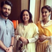 "Sonam Kapoor and Fawad Khan Promote ""Khoobsurat"" in Amritsar"