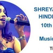 Shreya Ghoshal Live In Concert Chennai – October 2014 at The Music Academy T.T.K. Road
