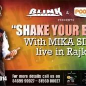 MIKA SINGH in RAJKOT – Mika Singh Live in Concert on November 2014 at Garden Dinner Club