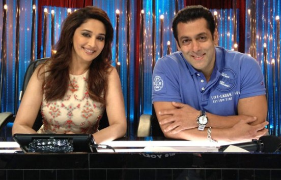 "Salman Khan on Jhalak Dikhhla Jaa 7 for Promote ""Kick"""