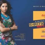 Shreya Ghoshal Live In Concert Rajkot Gujarat – October 2014 at Garden Dinner Club