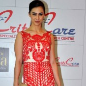 Lauren Gottlieb at Inauguration of New Branch of Criticare Hospital