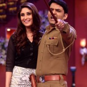"Kareena Kapoor at Comedy Nights with Kapil for ""Singham Returns"" Promotion"