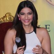 Sonam Kapoor at Khoobsurat Trailer Launch 2014