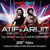 Atif Aslam Live In Concert Gurgaon – November 2014 at Huda grounds