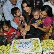 Aishwarya Rai Bachchan in Black Gown at the Smile Train Event
