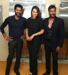 Action Jackson Promotion on KBC 2014 – Prabhu Deva in KBC with Ajay Devgan & Sonakshi Sinha