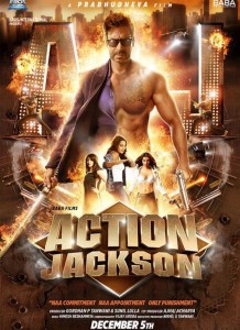 Action Jackson Poster 2014 Images – Ajay Devgan First Look in Action Jackson Poster Photo