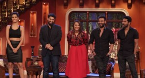 Action Jackson Promotion on Comedy Nights With Kapil / CNWK 2014