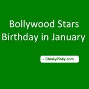 Famous People's Birthdays, January 09, India Celebrity ...