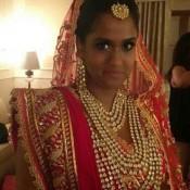 Bridal Kundan Set and Heavy Wedding Jewellery Wearing by Arpita Khan