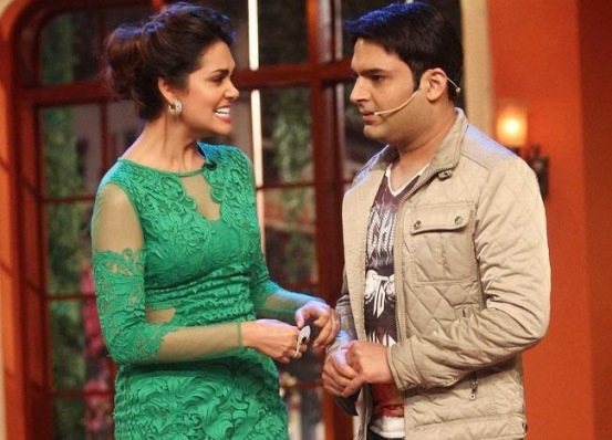 Humshakals Movie Stars on the sets of Comedy Nights with Kapil New 2014 Images