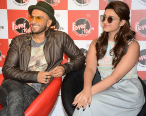 Parineeti Chopra in Jumpsuit Promote KILL DILL Film at Fever 104 FM Studio Mumbai