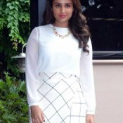 Parineeti Chopra in White Skirt at Kill Dil Press Conference in Bengaluru