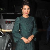 Priyanka Chopra in One Piece Dress at ZID Music Success Party
