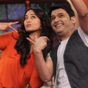 Sonakshi Sinha in Comedy Nights with Kapil to Promote for Holiday Movie