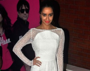 Shraddha Kapoor in White Maxi Dress at Screening of 'Kill Dill' Movie