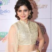 Samantha Prabhu in Lehenga Choli at Memu Saitham Dinner With Stars Event