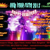 New Year Fista 2015 – New Year Celebration Party in Bangalore at Meenakshi Resort
