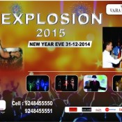 Explosion 2015 – New Year Celebration Party in Marriott Hotel Hyderabad