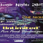 Jungle Nights 2015 New Year Bash Party in Bangalore on December 31, 2014