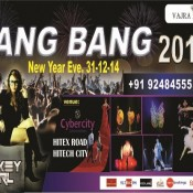 BANG BANG 2015 – New Year Celebration Party in Hyderabad on December 31, 2014