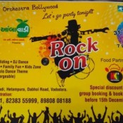 Aambawadi presents Rock on 31st December Party in Vadodara Gujarat