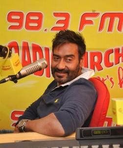 Action Jackson Promotions Pics at Radio Mirchi Studio in Mumbai
