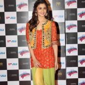 Alia Bhatt in Patiala Suit Photos – Latest Pictures in Bright Orange Yellow Patiala Dress