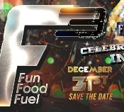 BGR Rock Gardens Organize F3 – F Cube New Year Party 2015 in Warangal