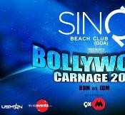 Bollywood Carnage 2014 New Year Celebration Party at SINQ Beach Club Goa