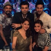 Alia Bhatt and Varun Dhawan on Jhalak Dikhla jaa 7 for Promote Humpty Sharma Ki Dulhania