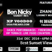 9bar Presents Goa Love New Years Eve Party in Goa on December 31, 2014