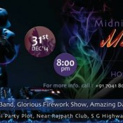 Midnight Madness 31st December 2014 Party at Maahi Party Plot in Ahmedabad