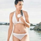 Mugdha Godse in White Bikini Pics – Hot Swimsuit Photos