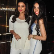 Parineeti Chopra in White Top and Ankle Jeans at Charity Art Auction in Mumbai