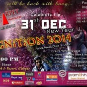 Red Carpet Event Managers presents Ignition 31st New Year Party 2014 in Gandhinagar