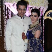Punit Malhotra's Sister Ridhi Malhotra and Tejas Talwalkar Wedding Reception Photos 2014