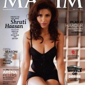 Shruti Hassan in Bikini for Maxim Cover Page Magazine