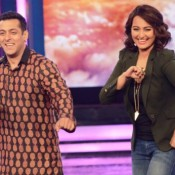 Sonakshi Sinha at Bigg Boss Sets for Promoting Action Jackson Film 2014