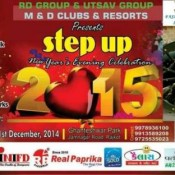 Step Up 2015 New Year Party at Ghanteshwar Park in Rajkot on 31st December 2014