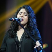 Sunidhi Chauhan Live in Concert at VADFEST 2015 in Vadodara on 24 January