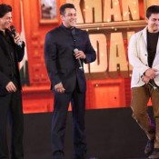 Woow… Three Khans of Bollywood Salman Khan, Shahrukh Khan and Aamir Khan on The One Stage