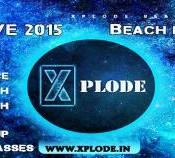 Xplode NYE 2015 31st Party Organized at Ashok Beach Resort in Pondicherry