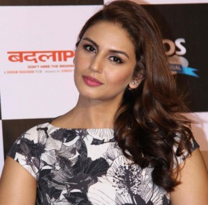Badlapur Trailer Launch Photos – Huma Qureshi in Black Midi Skirt Images
