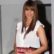 Bipasha Basu in Black Mini Skirt at Karan Johar 42nd Birthday Celebration