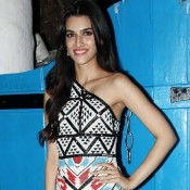 Kriti Sanon in Printed One Shoulder off Dress Images