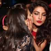 Priyanka Chopra in Red Gown at India's Got Talent Grand Finale