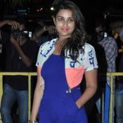Parineeti Chopra in Blue Short Dress at Karan Johar 42nd Birthday Celebration Party